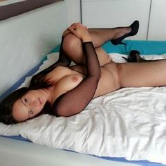 Schwarzes Catsuit - HotGirl9909