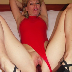 Roter Slinkystylez Hydrasuit Dildo in de - thomasal