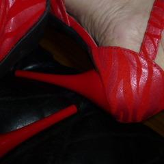 meine roten High Heels - klette54