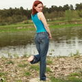 Jeans und Spandex - Celina-Ballerina