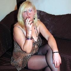 Eine schnelle Zigarette - Andrea46