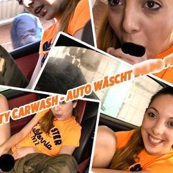 Dirty Carwash - Auto wäscht, Dildo fickt - lilly-lil