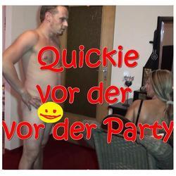 QUICKIE vor der PARTY... - BiJenny