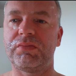 Facial - Cumshot ins Gesicht - Nylonboy6666