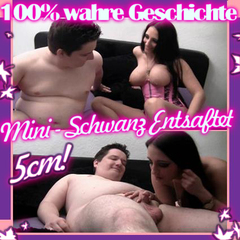 100% Wahr! Mini - Schwanz Entsaftet ! 5C - QueenParis
