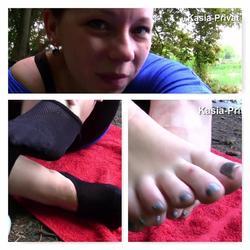 Verschwitze Füße Outdoor - freeyastar