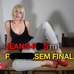 JEANS-PISS mit PERVERSEM FINALE! - -MissMia-