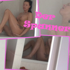 Spanner Mike filmt mich beim Orgasmus! - dirty-yamila