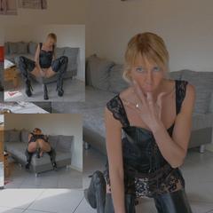 Deine LederBitch... - Miley-Weasel