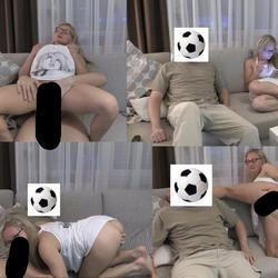 Ficken oder Fußball ?!?!?! - Studentin-Aneta