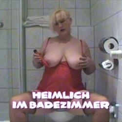 Heimlich im Badezimmer - Andrea46