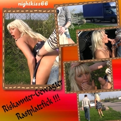PUBLIC-Riskannter Gewagter Rastplatzfick - nightkiss66