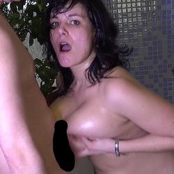 Tittenfick in der Badewanne - Susi-Extrem