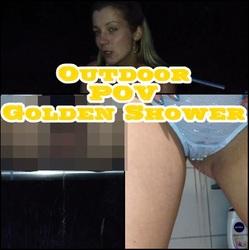 Outdoor POV Golden Shower - NASTY-SOUL