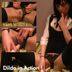 Dildo in Action! - WildNora