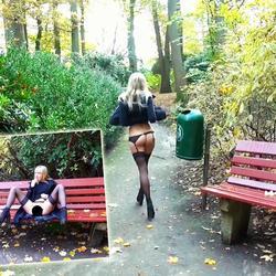 Riskanter Parkbank-Sex! Schaust du zu? - schnuggie91