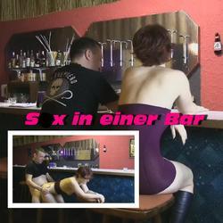 Fick in einer Bar - Popp-Sylvie