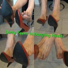 Dirty Feets in Dangling Heels - Hot_Milf