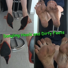 Dangling Heels and Dirty Feets - Hot_Milf