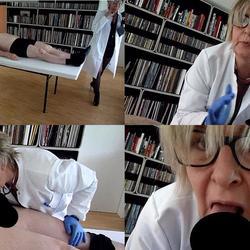 Frau Doktor bekämpft Errektionsstörungen - sweety44