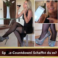 Spritz-Countdown! Schaffst du es auf Kom - seXXygirl