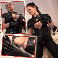 Die Extra Portion Latex in deinen Arsch! - Lady-MoniQue
