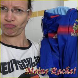 RACHE! Der EM Piss aufs Shirt! - AnnikaRose