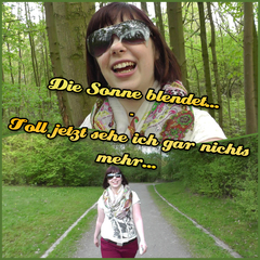 Die Sonne blendet... (Spermawalk) - Lilly-Loveshot
