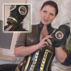 Geile Latex Spiele! - Lady-MoniQue