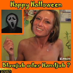 HAPPY HALLOWEEN !!! BLOWJOB ODER HANDJOB - Ramona_Deluxe