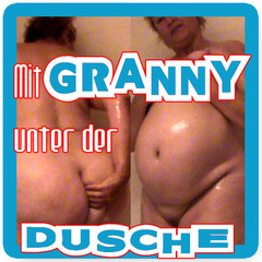 Mit Granny unter der Dusche - Mallorca-ANNA