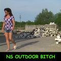 NS Outdoor BITCH - Spermadiebin