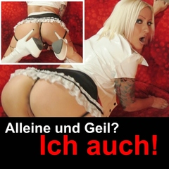 Alleine und geil? Ich auch! - Madame-Blows