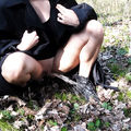 geiler outdoor-piss im wald - students4cash