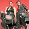 Two Girls- Domination Wichscountdown - Juicy-Julie