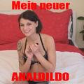 Mein neuer ANALDILDO - merry4fun